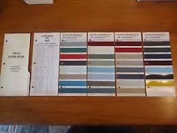 datsun nissan 1966 original berger paint colour chip charts mix