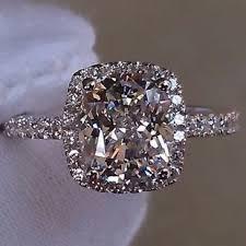 2 carat cushion cut engagement ring aliexpress buy 2017 sale promotion 7 8m 2 carat cushion