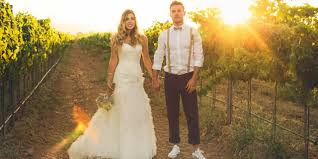 wine country weddings visit california