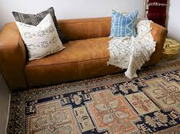 on hold navy and peach persian runner u2014 blue salvage vintage
