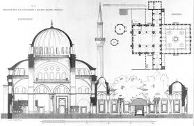 Mosque Floor Plan Bayezid Ii Mosque By Gurlitt 1912 Architecture Pinterest Mosque