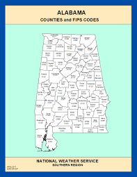 Map Alabama Maps Alabama Counties And Fips Codes