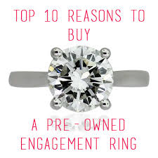 pre owned engagement rings pre owned wedding rings kubiyige info