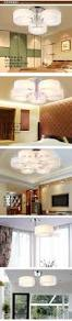 fashion acryl led ceiling light modern brief living room light
