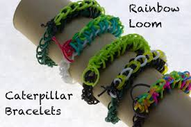 rainbow loom thanksgiving charms rainbow loom caterpillar bracelets 7 steps with pictures