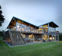 Vacation Home Designs Waterfront Home Design Ideas Geisai Us Geisai Us
