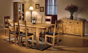 stunning oak dining room table chairs contemporary home design