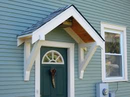 Awning Cost Tags Overhangfront Door Awning Cost Front Porch Ideas Door Designs