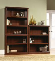 carson 5 shelf bookcase with doors threshold target bookcase