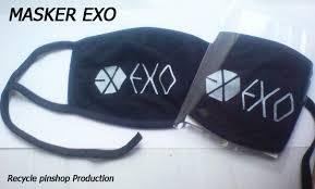 Masker Exo masker exo aksesoris kpop