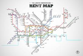 Portland Metro Map by London Underground Rent Map Thrillist