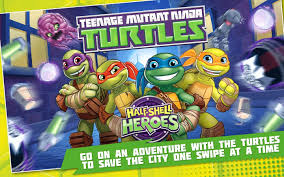 tmnt half shell heroes android apps on google play