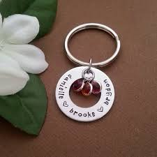 personalized birthstone keychains 52 best keychains images on key chain keychains and