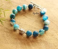 gemstone beaded bracelet images Most popular jewelry azilaa jpg