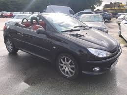used black peugeot 206 for sale kent