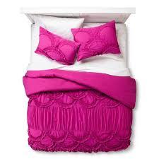 Fuschia Bedding Amazon Com Boho Boutique Texture Comforter Set Fuchsia Full