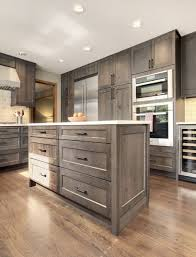 gray stained kitchen cupboards remodeling services bellevue issaquah src inc kitchen