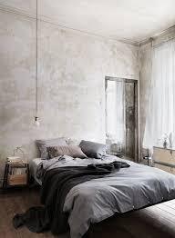 chambre gris clair du gris dans la chambre cocon de décoration le