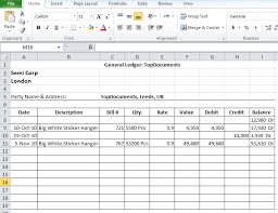 exle cover page for resume general ledger templates in excel format xlsx accounting