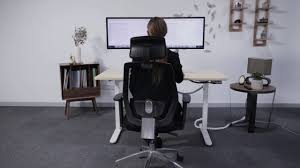 Sit Stand Office Desk by Flexispot Ergonomic Sit Stand Desk Youtube