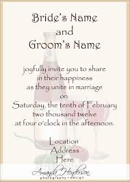 wedding invitation message sles 100 images free sles of