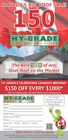 canada u0027s big roof sale hy grade roofing