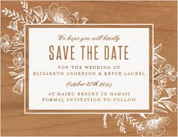 cheap save the date wooden save the dates made from real wood basic invite
