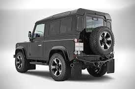 land rover defender black the overfinch defender 40th anniversary edition u2022 design father