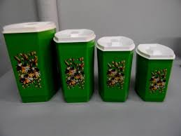 Green Canister Sets Kitchen - 123 best green canisters images on pinterest kitchen canisters