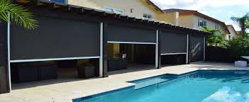 Wind Screens For Decks by Motorized Patio Shades Nashville Patio Porch And Screen