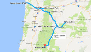 Roseburg Oregon Map by The Ultimate Oregon Natural Wonders Road Trip