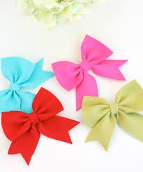 how to make a hair bow easy diy easy felt bows damask costuras felt