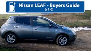 nissan leaf for sale near me nissan leaf buyers guide v1 youtube
