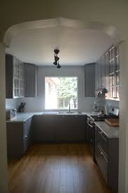 the best ideas about modern ikea kitchens pinterest love that our customers kept the arched doorways for their ikea kitchen renovation grey