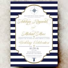 navy blue wedding invitations nautical wedding invitation navy blue wedding invitation sea