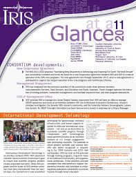 annual reports and plans iris