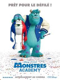 image monsters university french poster jpg disney wiki