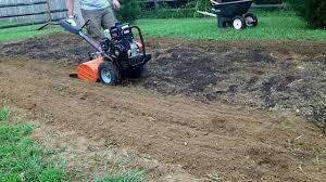 chicken manure vegetable garden fall garden composted manure tilling youtube