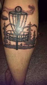 new tattoo discgolf