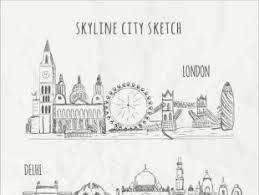 city sketch free vectors ui download