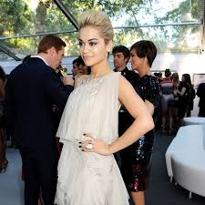 rita ora just found the coolest makeup and nail combo to wear with