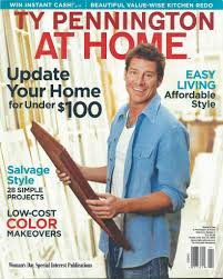 ty pennington at home the old wood company