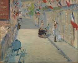 1100 The Flag The Rue Mosnier With Flags Getty Museum