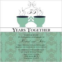 anniversary party invitations anniversary party invitations cards anniversary announcements