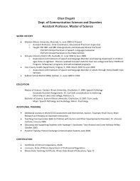 Slp Resume Examples by 3 Audiologist Cv Template 1 2 Audiologist Cover Letter Sample