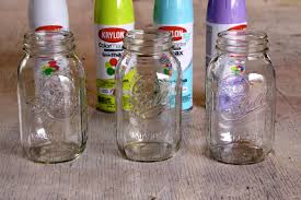 a summer home decor update easy peasy diy ombre mason jars kate