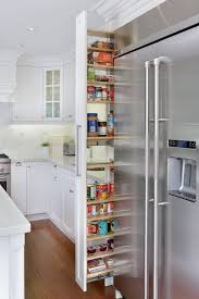 pull out pantry kitchen midcentury with drawer shelf cabinets
