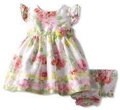 sweet baby newborn floral easter dress multi 6 9