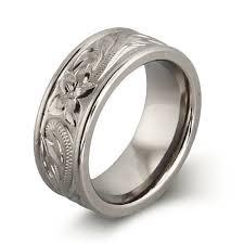 engraved wedding rings for men lake side corrals