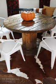 Modern Dining Room Furniture 2014 Our Rustic Modern Dining Room Thewhitebuffalostylingco Com
